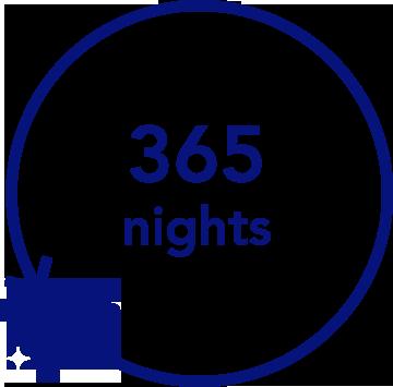 365 Night Trial