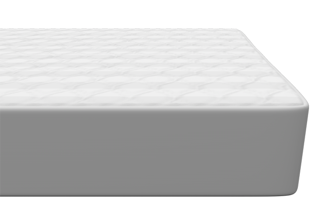Nectar mattress protector section view