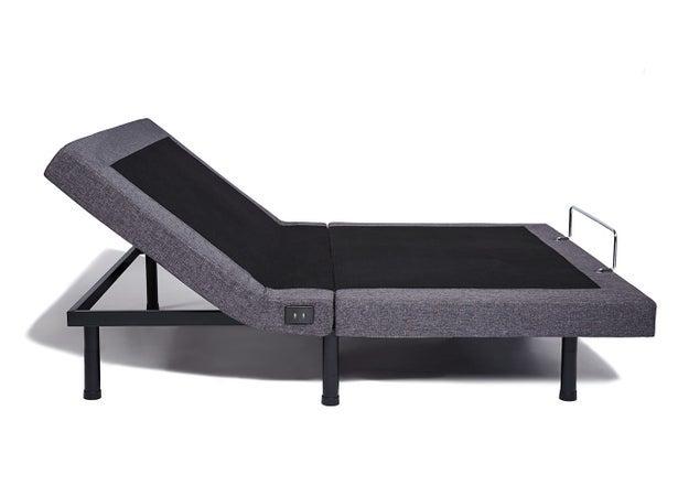 nectarsleep adjustable bed frame - head up position