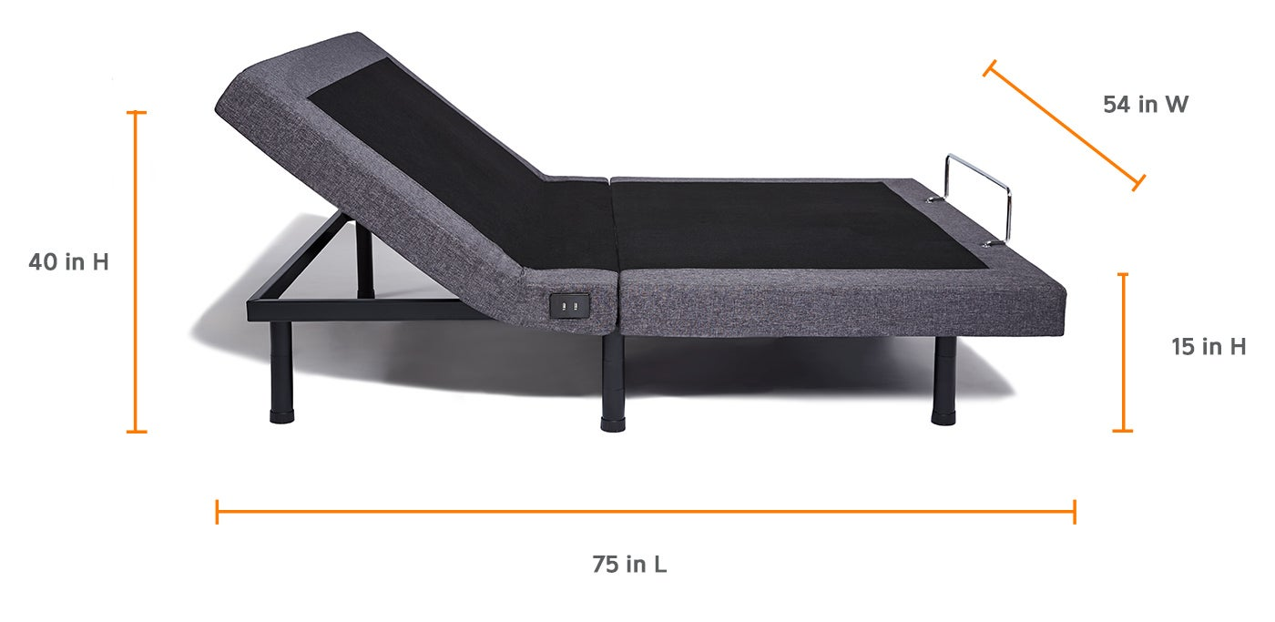 Full Bed Frame.Full Adjustable Bed Frame